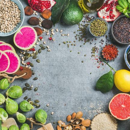 Bio-Samen, mit denen sie verschiedenes gemüse anbauen können