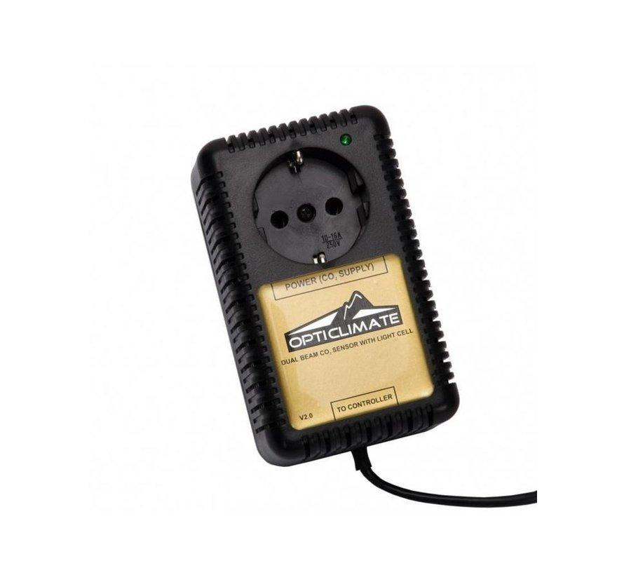 CO2 Sensor voor DimLux Maxi Controller + 10 Meter Kabel