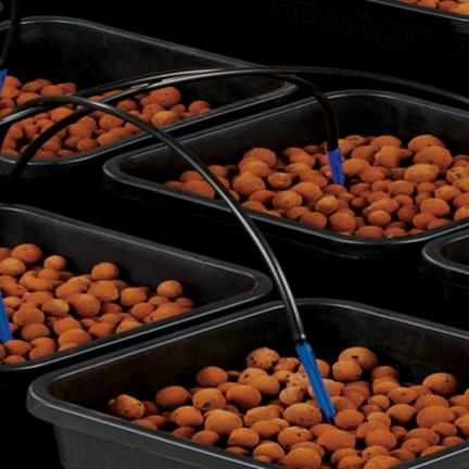 Sistemas de cultivo wilma en varias formas y tamaños.
