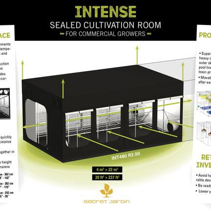 Secret Jardin Intense growbox » Raja Trading   The Urban ...