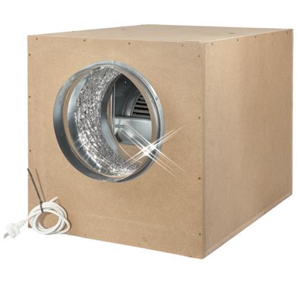 Cajas de ventilación en varias formas y tamaños