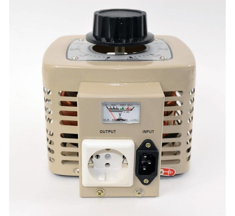 Variac Adjustable Transformator TDGC2 500W