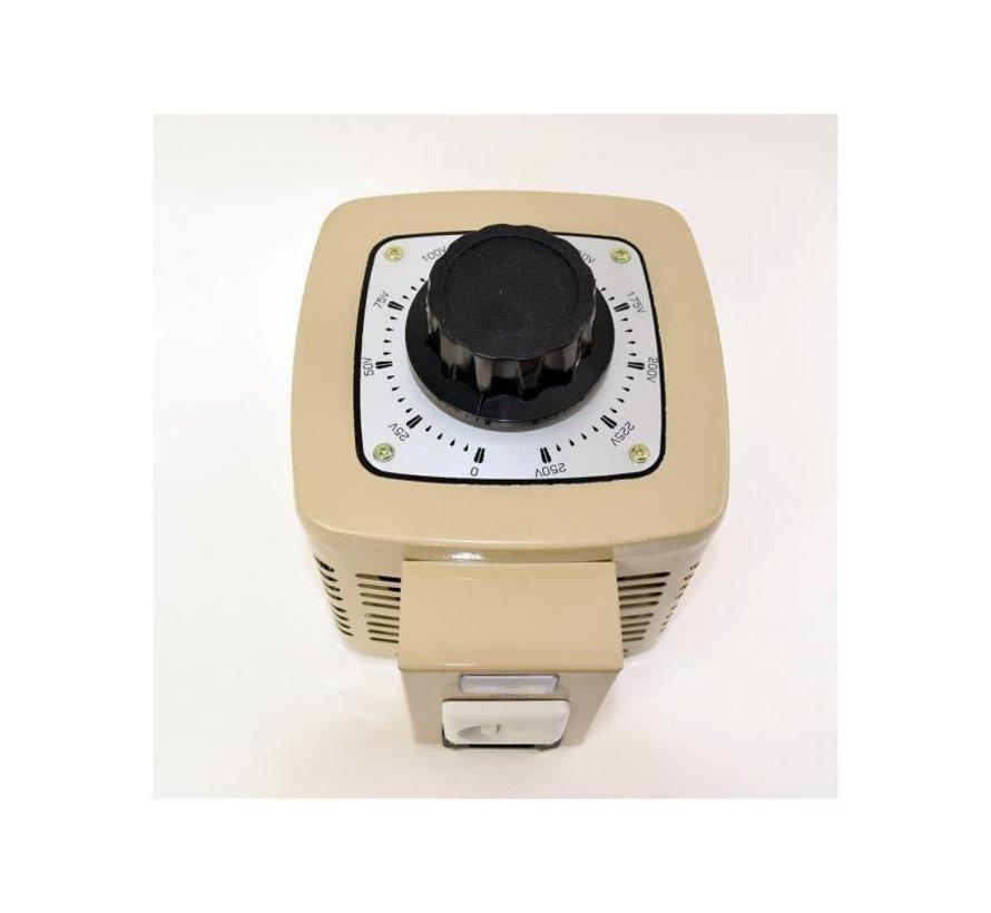 Variac Regelbare Transformator TDGC2 500VA 2A 500W