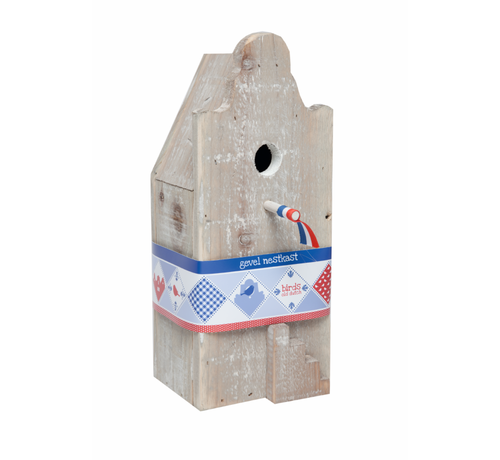 Buzzy Birds Birdhouse Old Dutch Amsterdam Facade for small birds