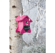 Buzzy Seeds Bird Home Pink Birdhouse Nest with chalk