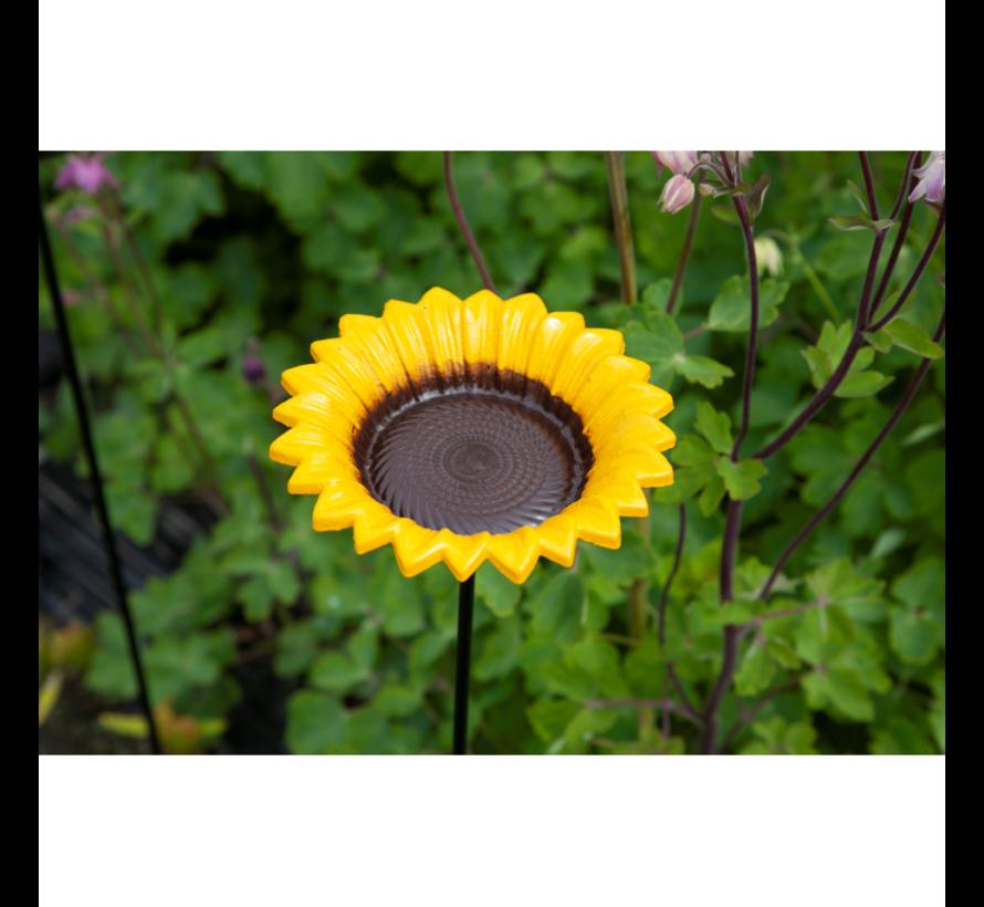 Buzzy Bird Gift Feeder Stake Sunflower