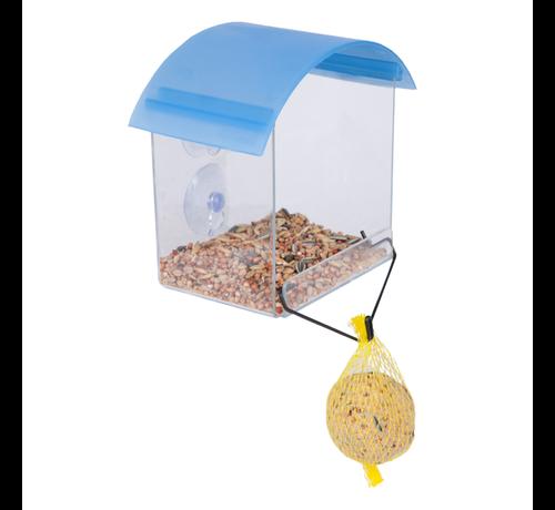 Buzzy Birds Bird Gift Window Feeder Bird Feeding Station