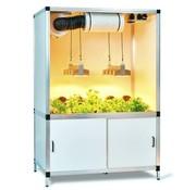 G-Tools Bonanza Sanlight LED Q4W 2x165 Watt Indoor Kweekkast 1m²