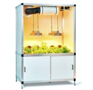 G Tools Bonanza Sanlight 300 Watt Q4W LED Grow Cabinet  1m2