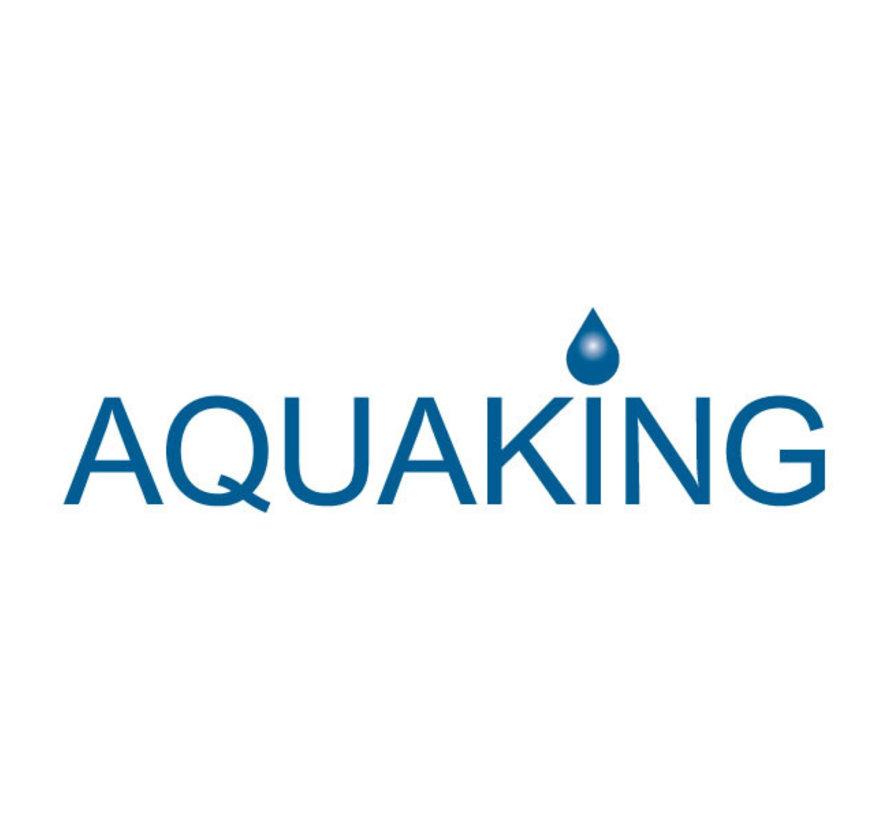 AquaKing Barril de Agua 380 Litros 70x70x100 cm Plegable
