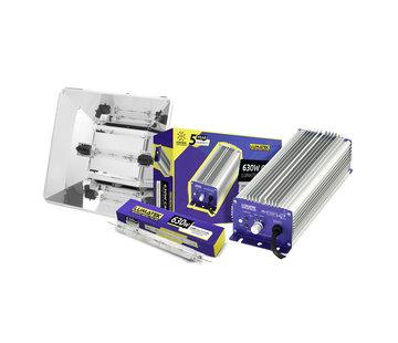 Lumatek Tekken Pro Kit CMH Lastre Electrónico 630W + MIRO Reflector + 630W DE Lampara
