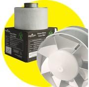 G Tools Combo Winflex Ventilador + K2600 Mini Filtro de Carbón