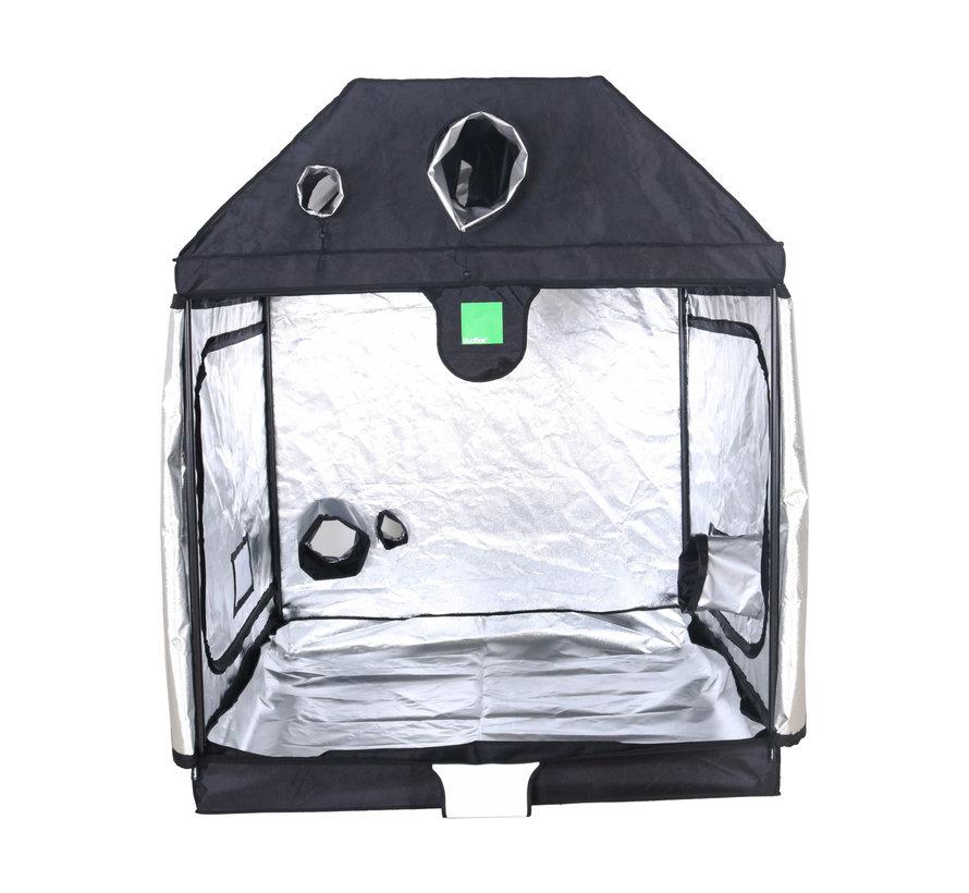 BudBox Pro XL Plus R Grow Zelt Silber  150x150x180 cm