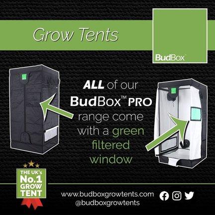Budbox 120 Series Grow Tent