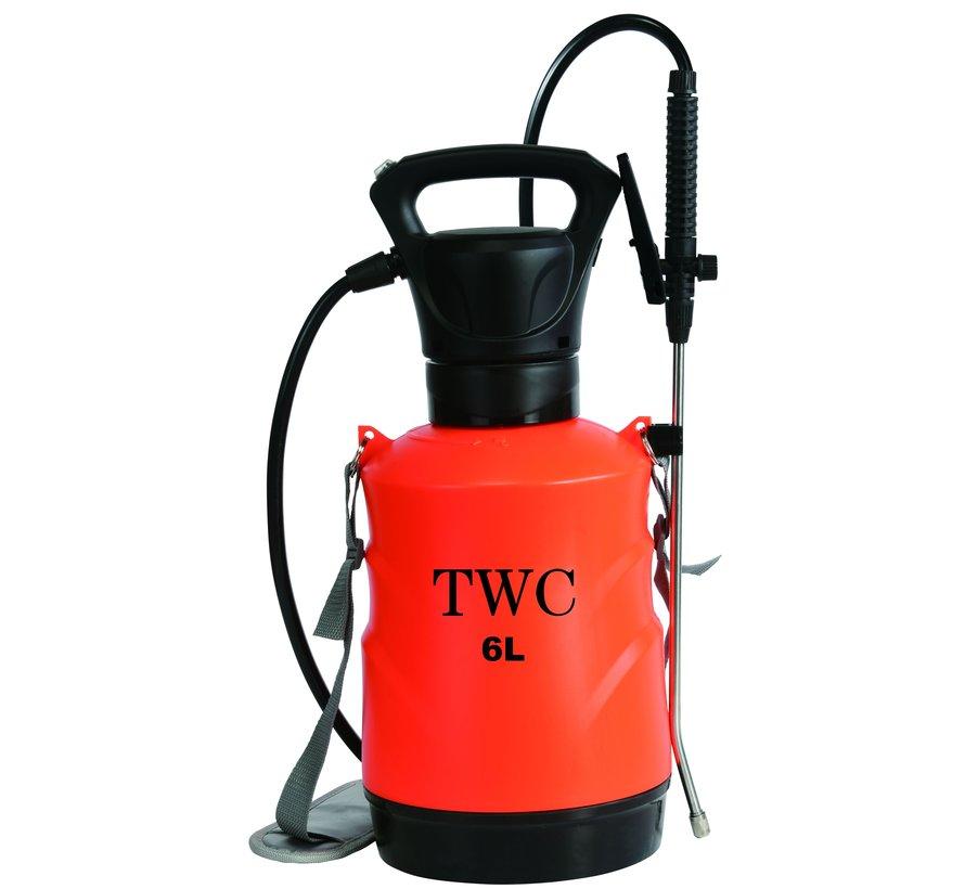 TWC Elektrischer Drucksprüher 6 Liter