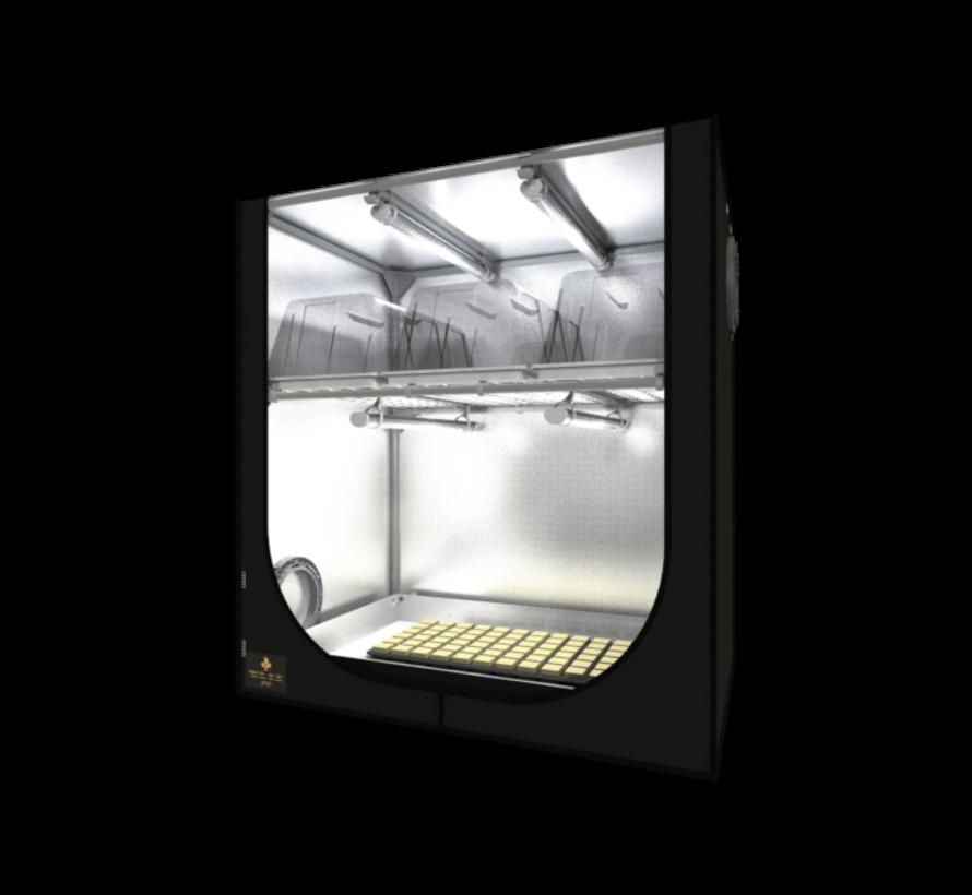 DP90 Propagator Tent Kit 4x26 Watt LED 90x60x98