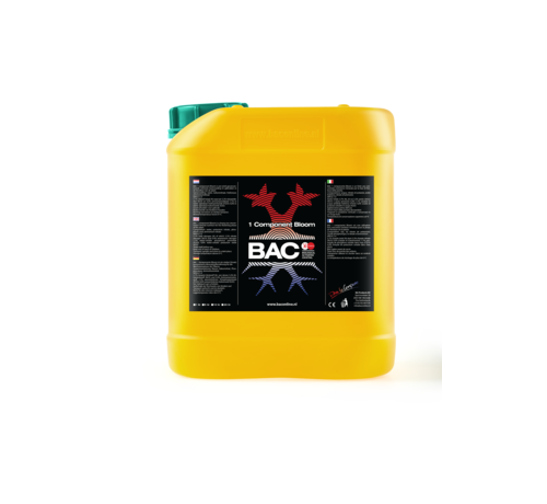 BAC Soil 1 Component Bloom Nutrients 5 Liters