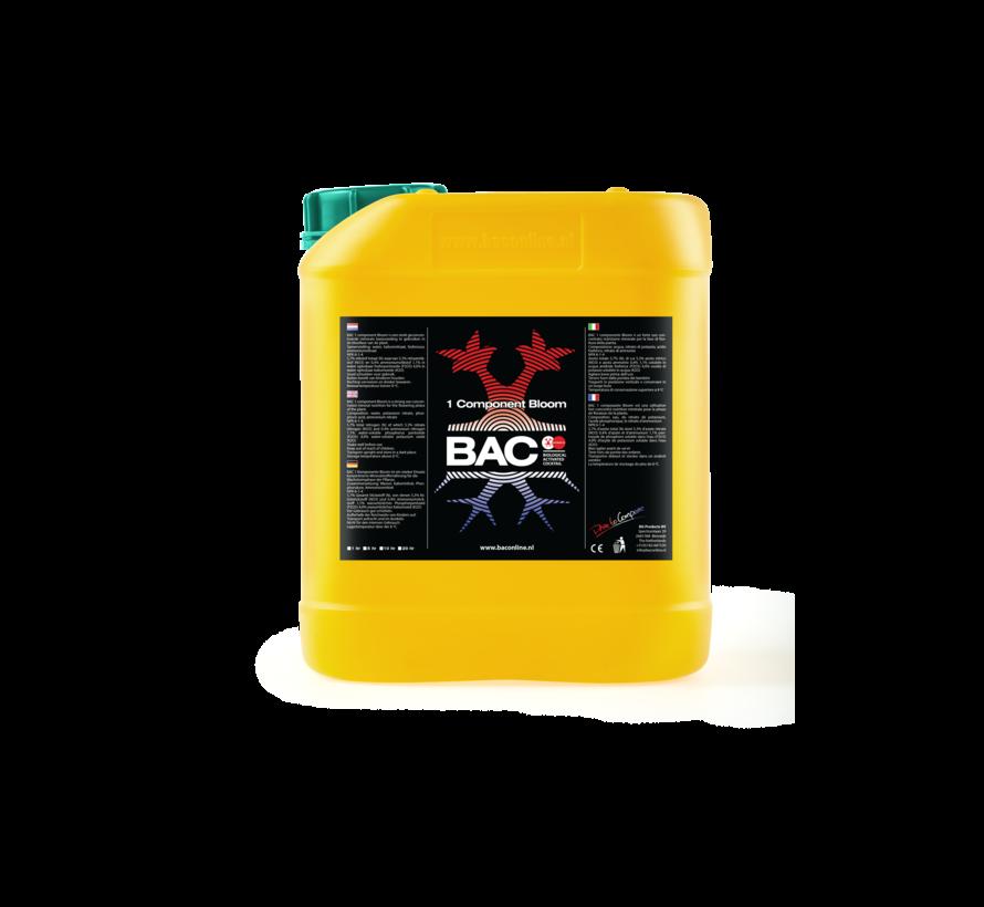 BAC Erde 1 Komponent Blüh Nahrung 5 Liter