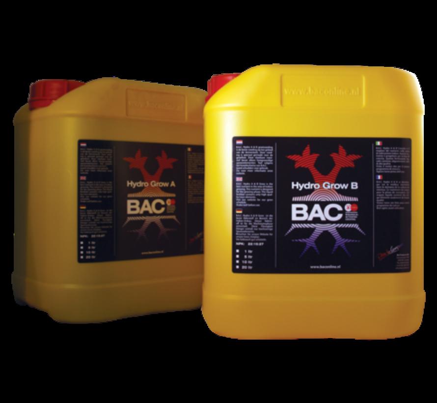 BAC A&B Topflower Grow Nutrients for hydroponics 5 Liters