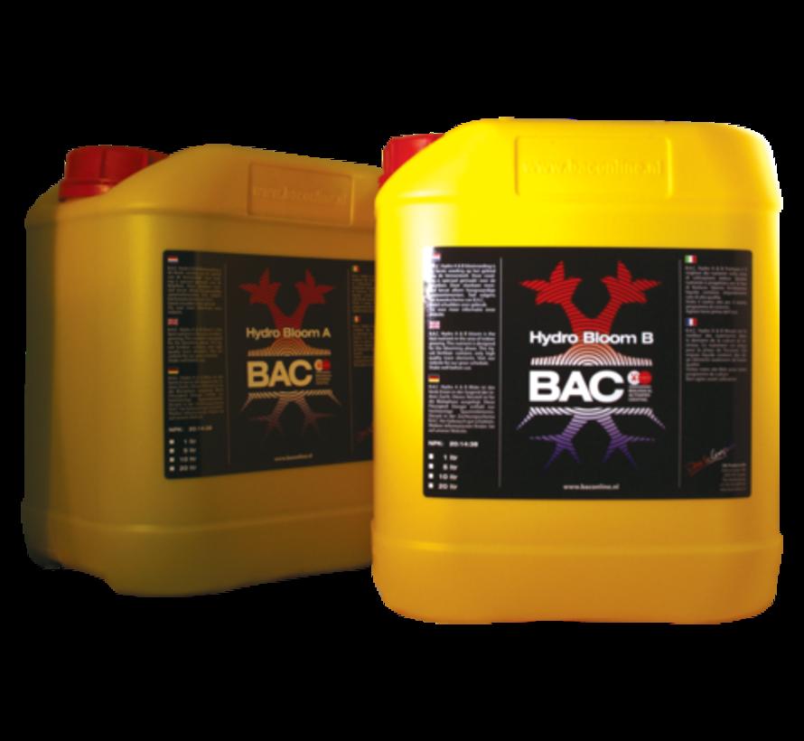 BAC A&B Topflower 5 Litros de Nutrientes de Floración para Hidroponia