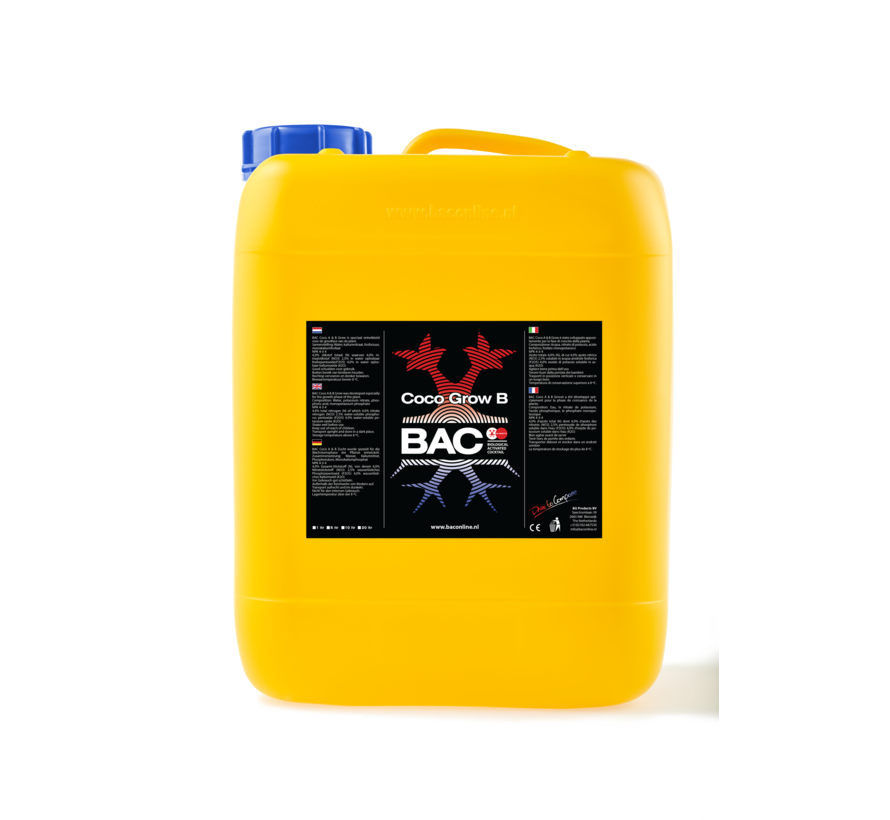 Coco A&B Grow Nutrients 5 Liters