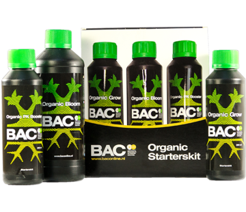 BAC Organic Plant Nutrients Starter Kit Small