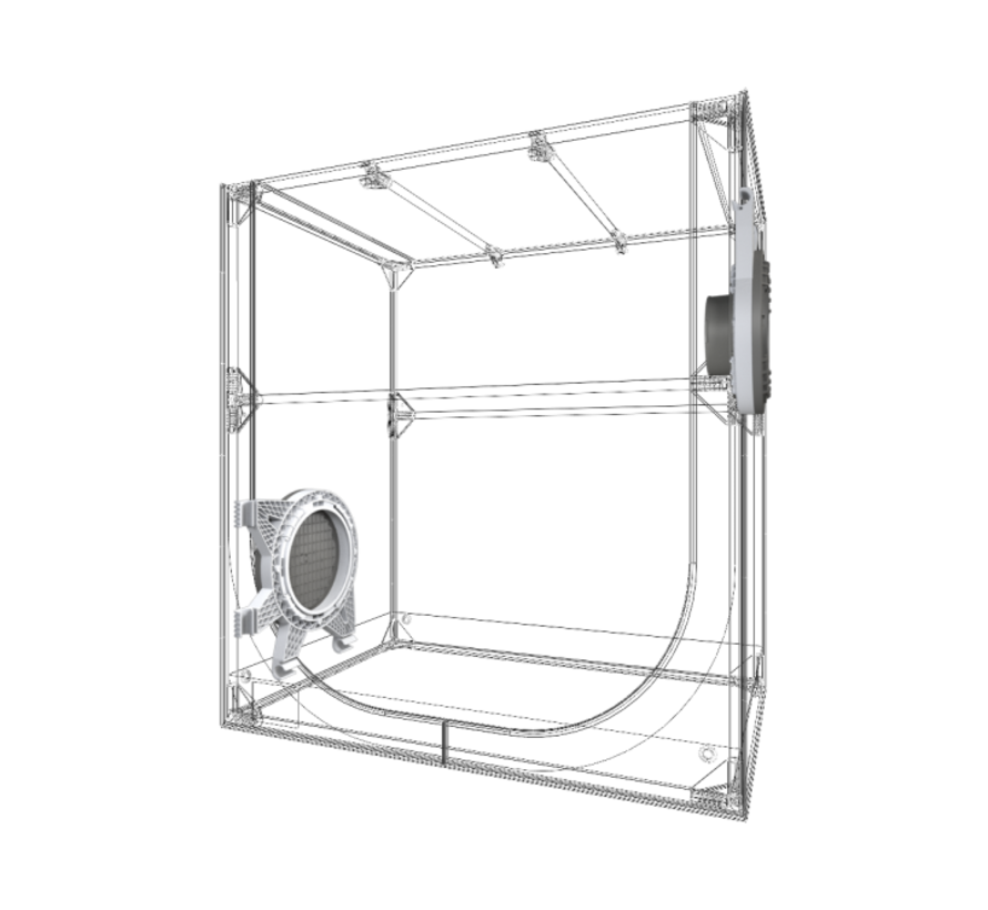 DP90 Propagator Compleet 4x26 Watt LED 90x60x98