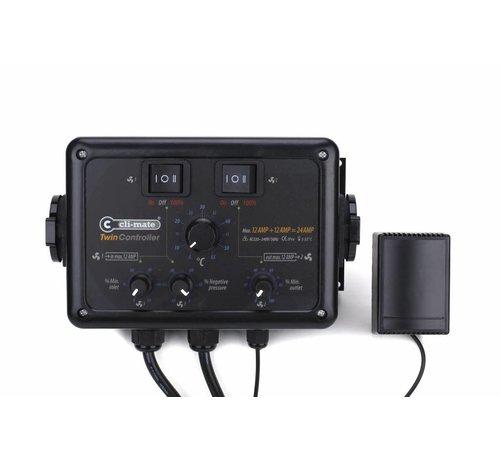 Cli-mate Twin Controller 12+12AMP