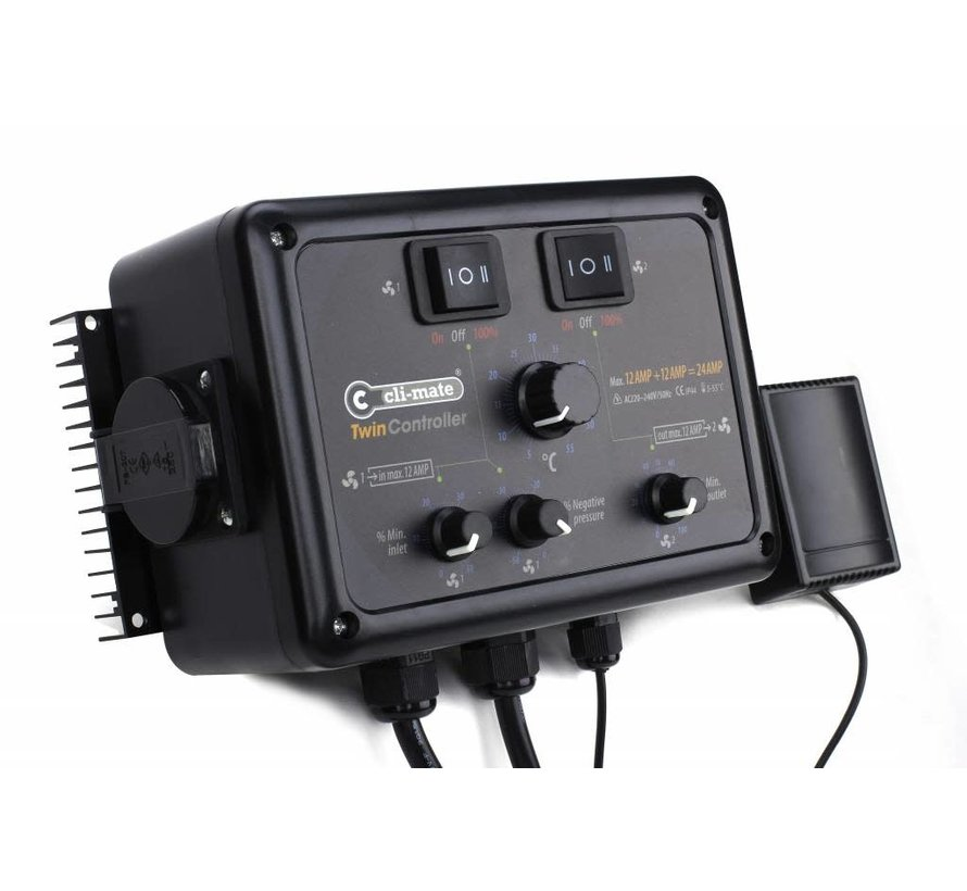 Twin Controller 12+12AMP