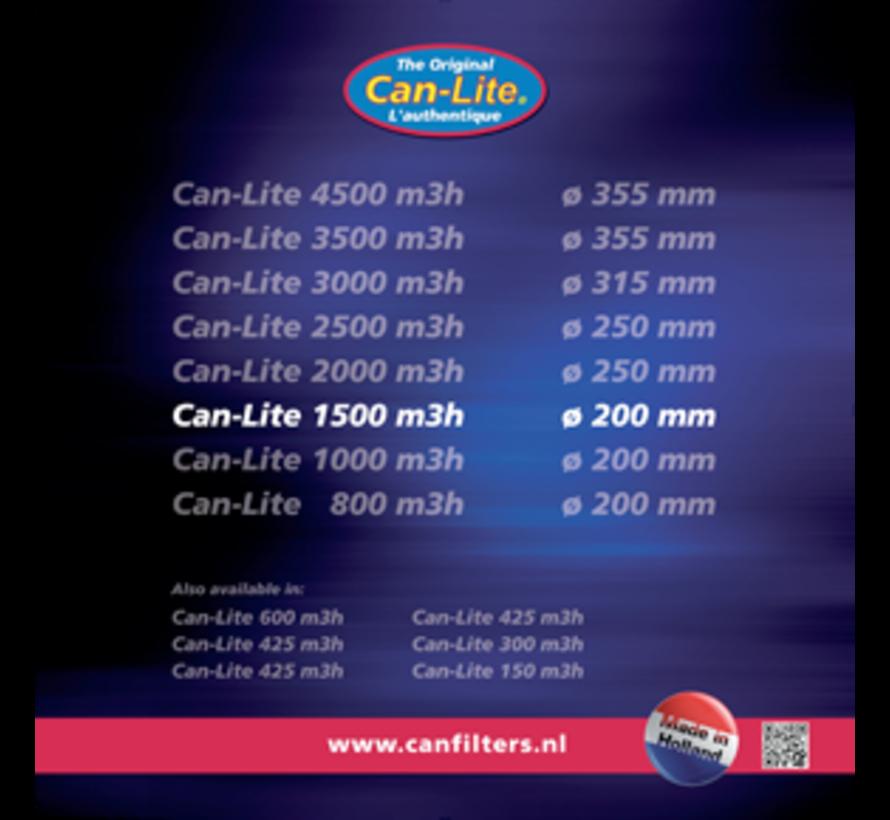 Can Filters Lite 1500 Kohlefilter 250 mm 1500 m³/h