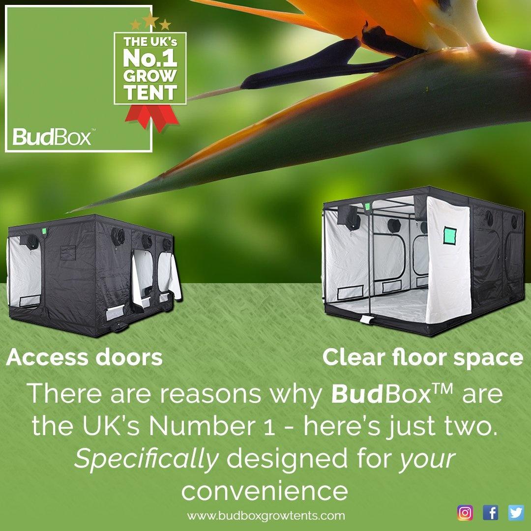 BudBox Pro XXL HL Grow Tent in 120x240x220 in Silver or