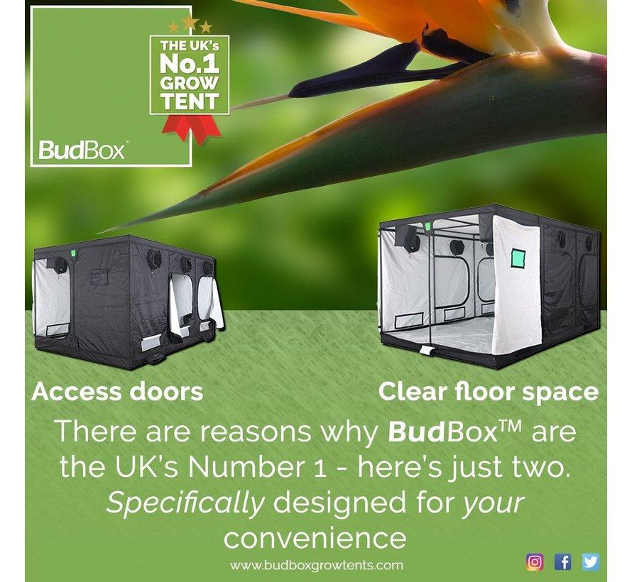 BudBox Pro XXL Plus HL Kweektent Wit 150x300x220 cm