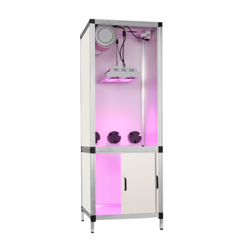Complete grow cabinet Led