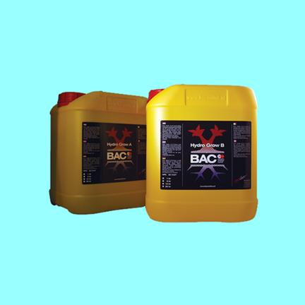 BAC Fertilizantes Básicos para Suelo, Coco e Hidro