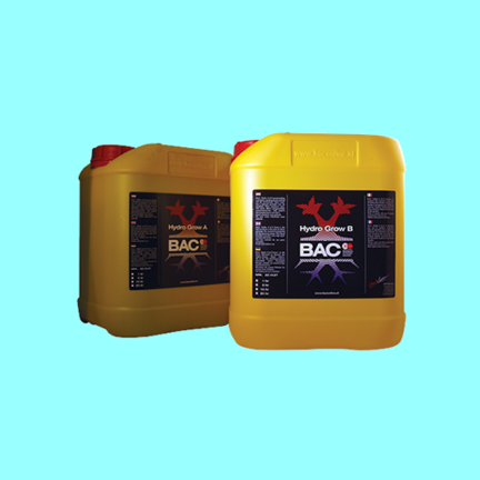 BAC main fertilizers for soil, coco and hydro