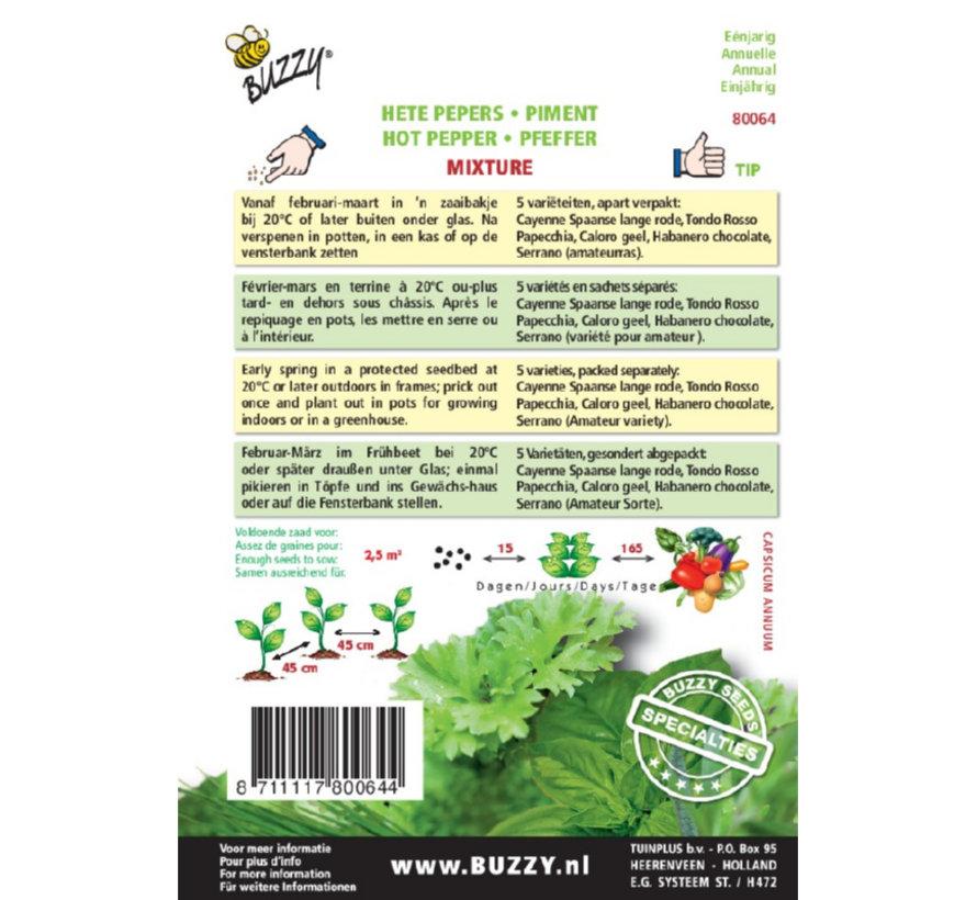 Buzzy Seeds Buzzy Spezialitäten Pfeffermischung