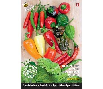 Buzzy Seeds Buzzy Specialties Pepper mix