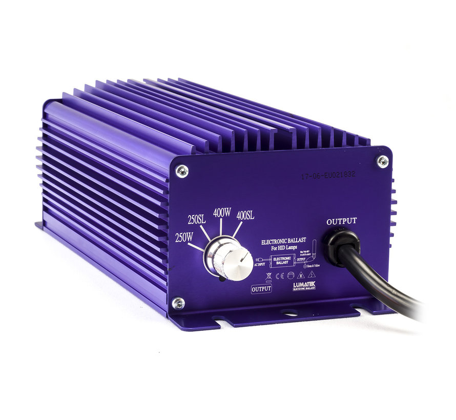 Lumatek EVSG 400 Watt 240 Volt Dimmbar