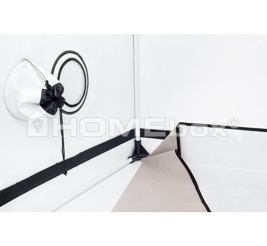 Homebox Ambient Q150 + Plus Growbox 150x150x220 cm