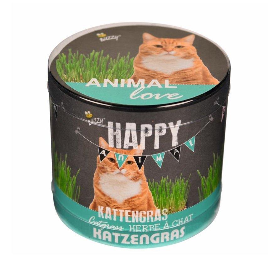 Happy Garden Animal Love Katzengras