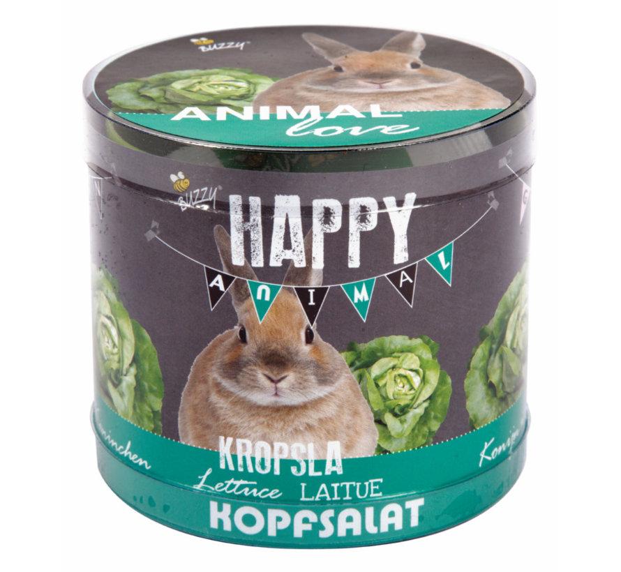 Buzzy Happy Garden Animal Love Sla Konijn