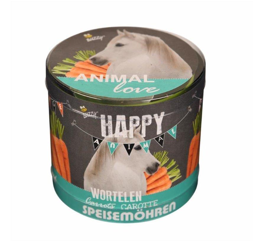 Happy Garden Animal Love Karotten Pferde