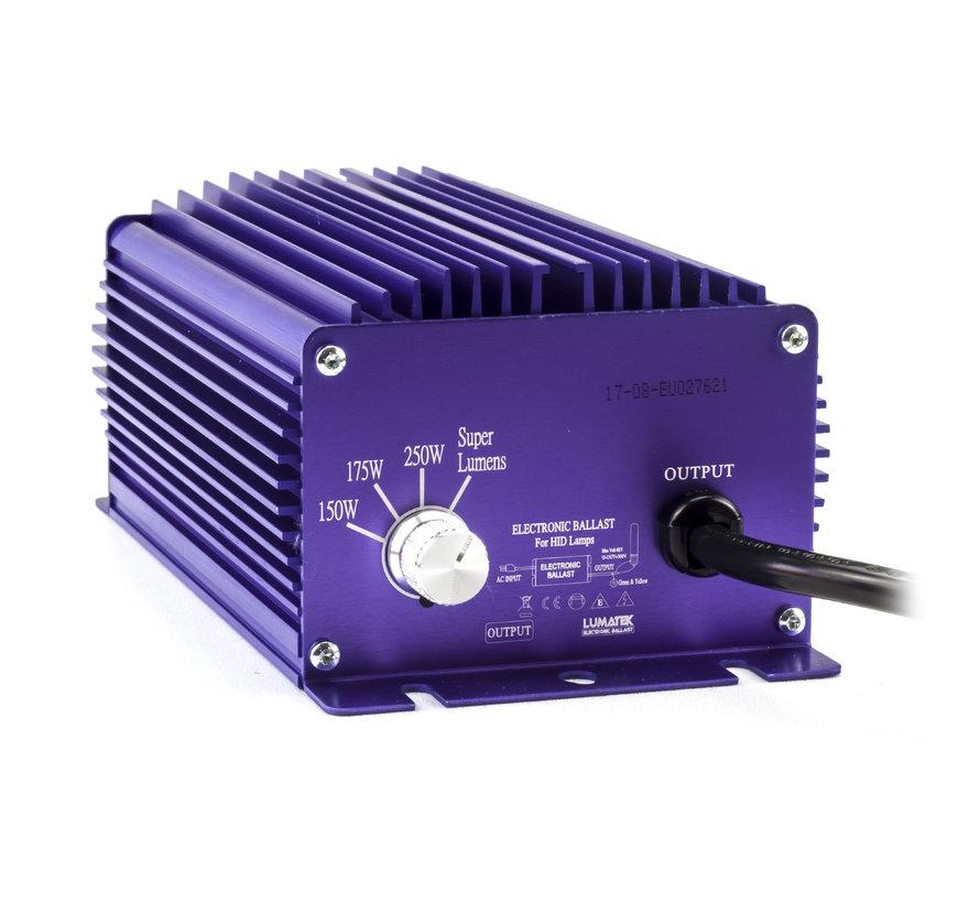 Lumatek EVSG 250 Watt 240 Volt Dimmbar