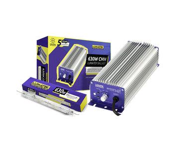 Lumatek Kit EVSG DE CMH 630W 240V Steuerbar + 630W DE Lampe