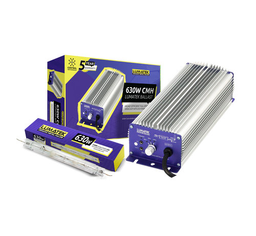 Lumatek Set EVSA DE CMH 630W 240V Controleerbaar + 630W DE Lamp