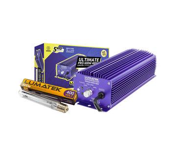 Lumatek Kit Ultimate Pro 600W 400V Controllable Digital Ballast+ 600W 400V Lamp