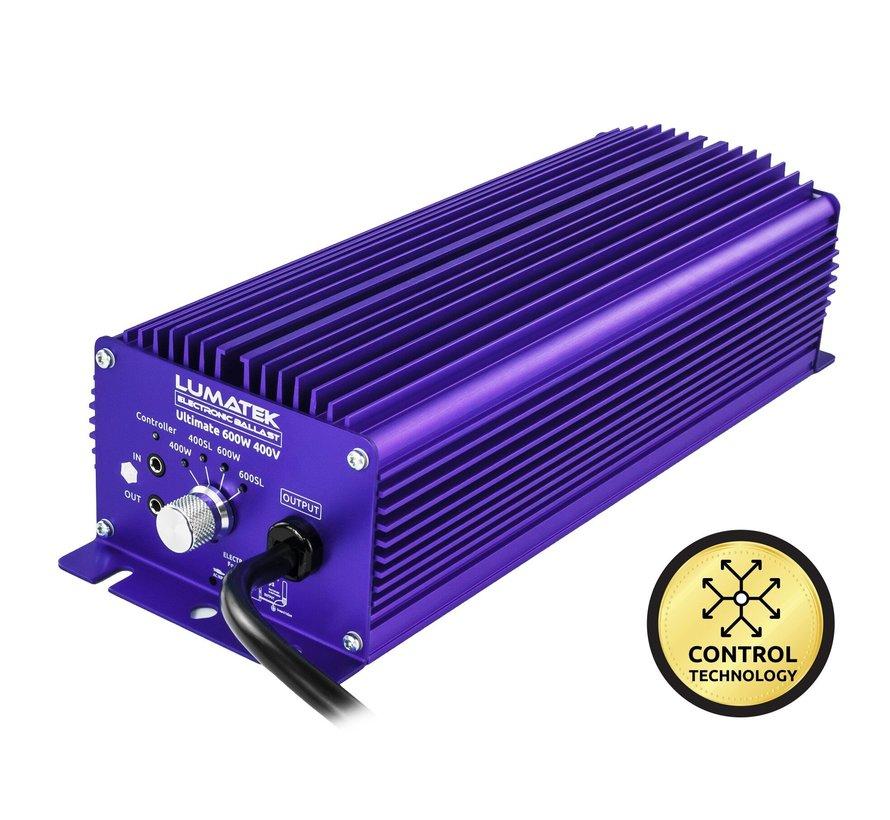 Lumatek Kit Ultimate Pro 600W 400V Steuerbar EVSG + 600W 400V Lampe