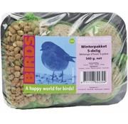Buzzy Birds Vogelfutter Winterpaket mit Nüssen und Meisenknödel
