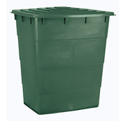 AquaKing Water Tank 520 Liter Rectangle  124x93x80 cm with Lid
