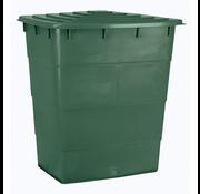 AquaKing Watervat 520 liter Vierkant incl. Deksel